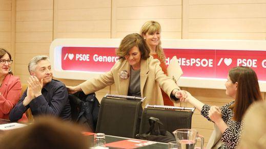 Calvo insiste otro año más en apropiarse para el PSOE la marcha feminista del 8 de marzo