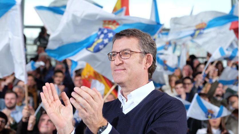 Feijóo mantendría la mayoría absoluta en Galicia sin necesitar a Vox o Cs