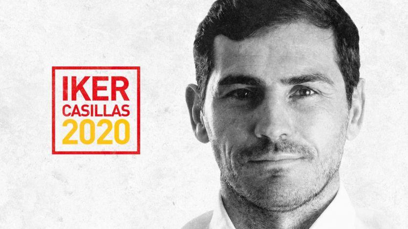 Iker Casillas hace oficial su candidatura para presidir el fútbol español