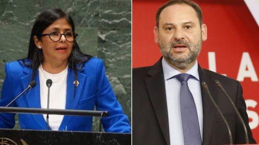 PP y Cs reclaman por vía judicial que no se destruyan las grabaciones del encuentro Ábalos-Delcy Rodríguez