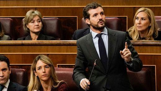 Belicosa sesión de control con cruces de insultos y reproches entre Gobierno de izquierdas y la oposición derechista