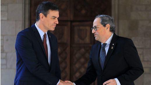 El Gobierno propone iniciar la mesa de diálogo de Cataluña el 24-F y Torra no confirma su asistencia