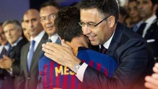 Messi espera cauto las pruebas de Bartomeu: