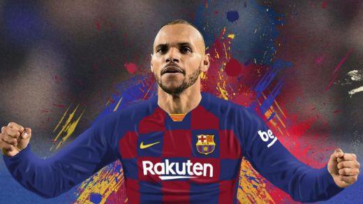 El Barça ficha a Braithwaite: un delantero low cost para salvar lo que queda de temporada