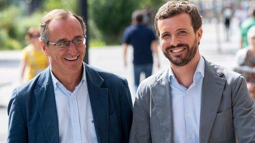 Bronca PP-Cs a cuenta de las listas de su coalición en el País Vasco