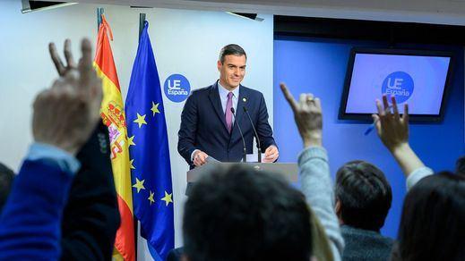 Rueda de prensa de Pedro Sánchez