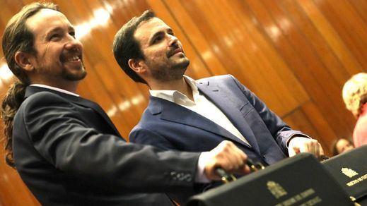 Iglesias, Garzón y Colau se conjuran para que funcione el gobierno de coalición con el PSOE