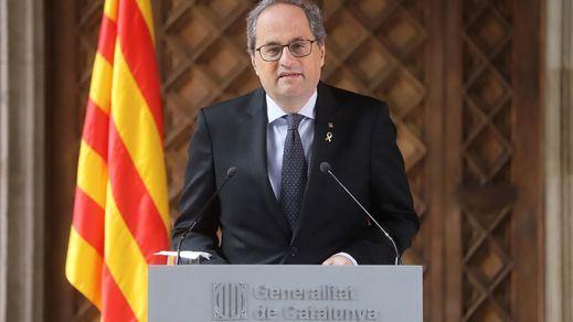 El Tribunal de Justicia de Cataluña inadmite la querella del PP contra Torra por