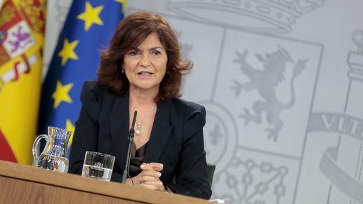 Calvo evita la confrontación sobre la composición de última hora de la mesa de diálogo sobre Cataluña