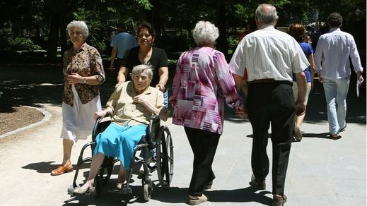 Los pensionistas, por primera vez, son 'mileuristas' de media