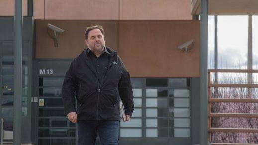 Junqueras hace su primera salida de prisión para trabajar como profesor en la universidad
