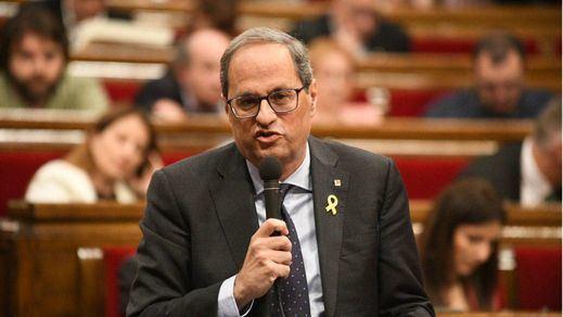 Nuevo rifirrafe entre Torra y ERC en el Parlament
