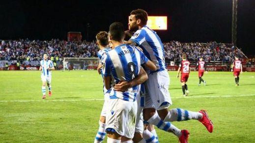 La Real Sociedad elimina al Mirandés y se mete en una final de Copa 32 años después (0-1)