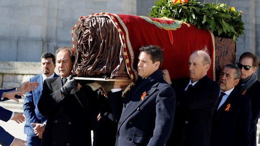 Los nietos de Franco recurren la exhumación del dictador ante el Tribunal de Derechos Humanos