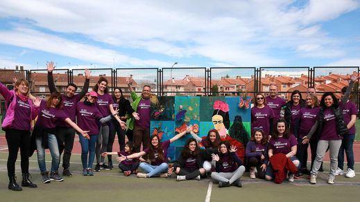 Voluntarios de Iberdrola celebran el Día Internacional de la Mujer con APANID y Cear Getafe