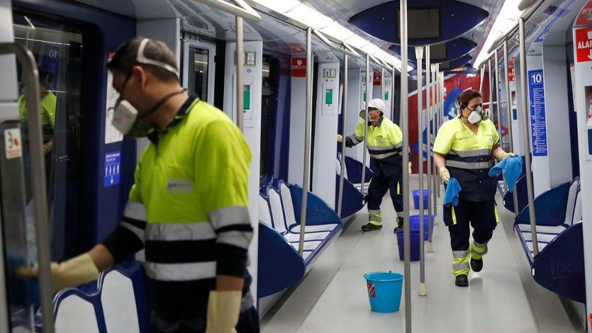Conviviendo con el coronavirus: así se han adaptado en Madrid empresas y trabajadores a la crisis