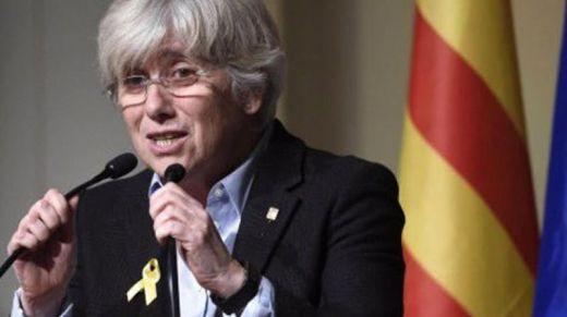 El polémico tuit que la independentista catalana Clara Ponsatí borró:
