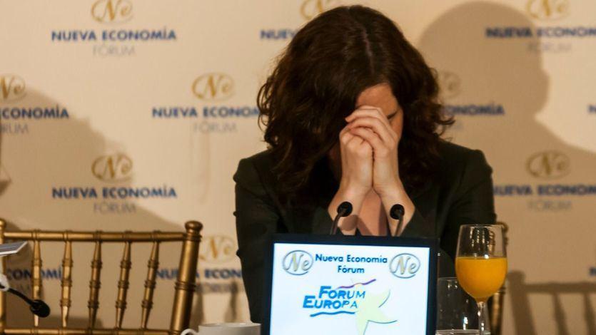 La presidenta madrileña, Isabel Díaz Ayuso, da positivo por coronavirus