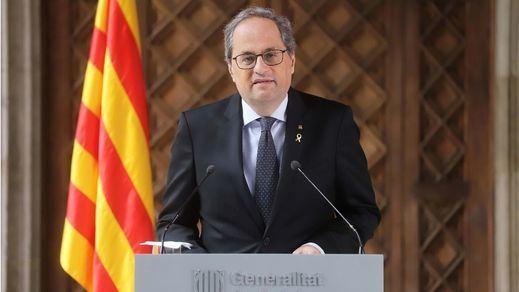 El presidente catalán, Quim Torra, también da positivo por coronavirus