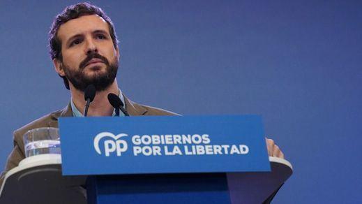 Casado ofrece los votos del PP para aprobar las medidas contra el coronavirus y pide desplegar el Ejército en toda España
