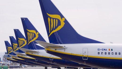 Ryanair suspende la mayoría de sus vuelos