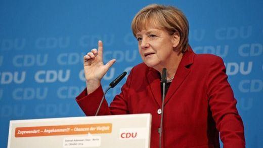 Merkel, en cuarentena tras estar en contacto con un médico infectado