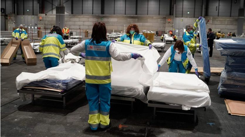 Los fallecidos por coronavirus en España ya son 2.182 y hay 33.089 contagiados