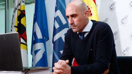 Rubiales presenta un paquete de medidas para ayudar al fútbol ante la crisis del coronavirus