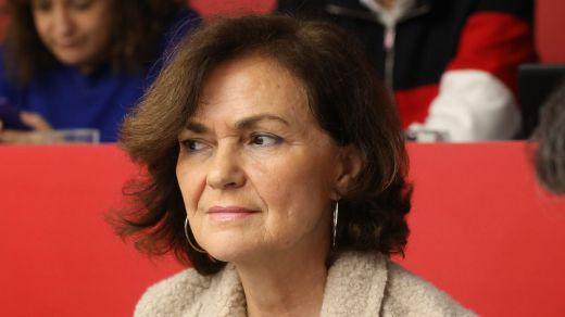 La vicepresidenta Calvo recibe el alta hospitalaria tras superar la peor fase del coronavirus