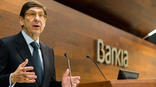 Bankia definirá con 'máxima prudencia' su política de dividendos y renuncia a hacer un pago extraordinario a los accionistas este año