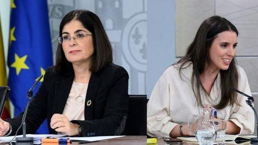 Carolina Darias e Irene Montero vuelven a dar positivo por coronavirus