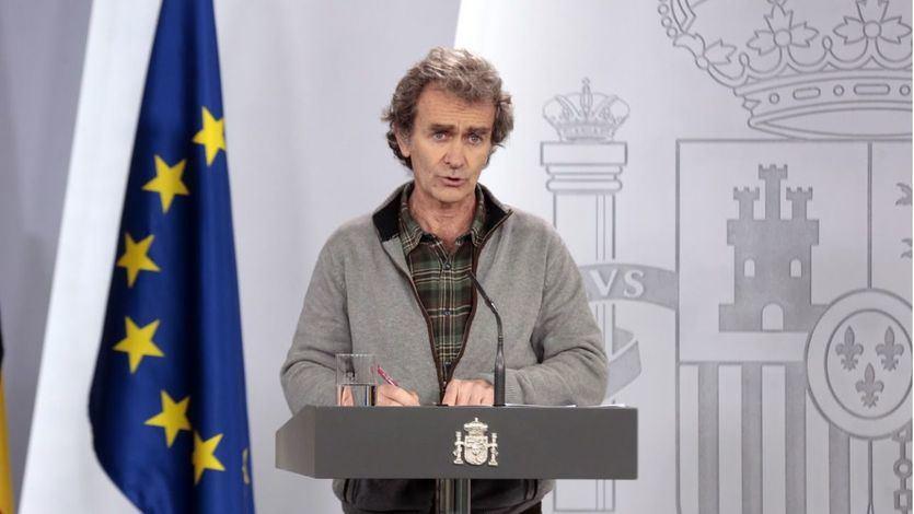 Simón, sobre la saturación de las UCI: 'Hay 6 comunidades al límite y otras 3 que se están acercando'