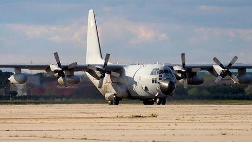 Llegan a Madrid los primeros vuelos con equipos de protección sanitaria