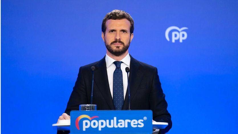 Casado no apoyará los decretos del Gobierno sobre despidos e 'hibernación' de la economía