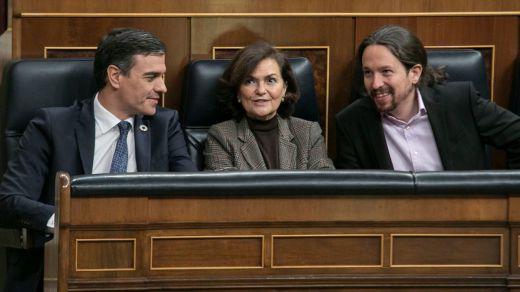 Sánchez e Iglesias se aíslan y ponen en peligro la mayoría parlamentaria para aprobar sus medidas contra la pandemia