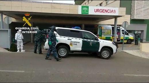 La Guardia Civil detiene a un enfermo de coronavirus que huyó del hospital de La Paz