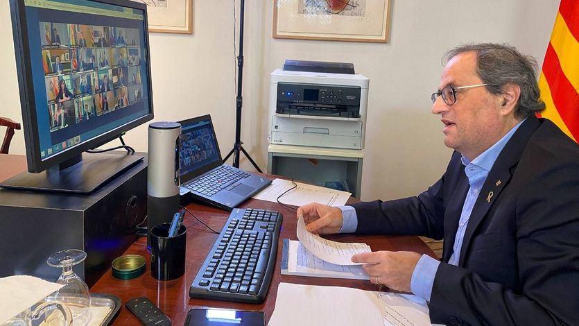 Torra pide a Sánchez 'el retorno de las competencias' en salud tras el fracaso del sistema centralizado'