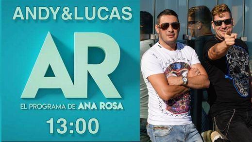 Cachondeo en Twitter por la entrevista de Ana Rosa Quintana a Andy y Lucas