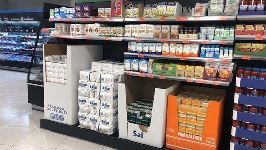 Lineal de Mercadona donde se vende el bicarbonato de sodio