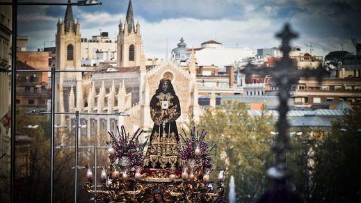 La Policía Nacional propone para sanción a nueve personas que simulaban una procesión de Semana Santa