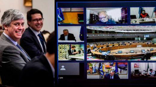 El Eurogrupo acuerda desbloquear medio billón de euros en ayudas a los afectados por el coronavirus