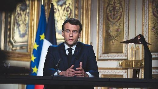 Francia se confinará al menos hasta el 11 de mayo tras un dramático discurso de Macron
