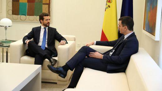 Sánchez iniciará este jueves con Casado sus contactos para impulsar unos Pactos de la Moncloa