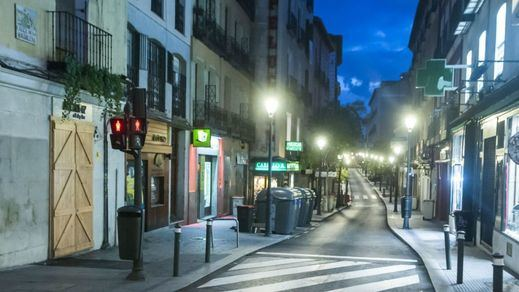 Las imágenes más impactantes de Madrid vacío (fotos)