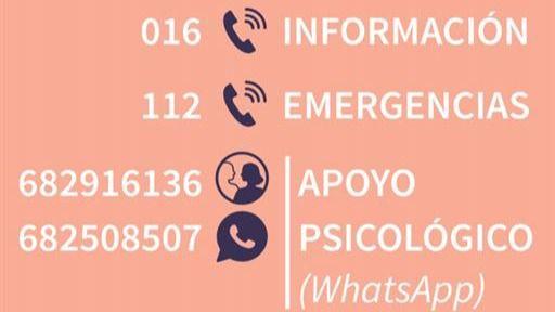 El llamativo aumento de las llamadas al 016 y las consultas online durante el confinamiento