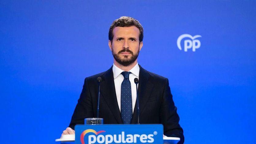 Casado denuncia que Sánchez no le avisó de 'su intención de prorrogar el estado de alarma'
