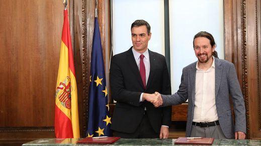 PSOE y Podemos se adelantan y registran la comisión de reconstrucción