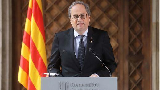 Torra pedirá a Sánchez que termine el estado de alarma o devuelva competencias a Cataluña