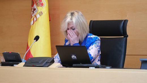 La emoción de Verónica Casado al recordar a los profesionales sanitarios fallecidos por coronavirus