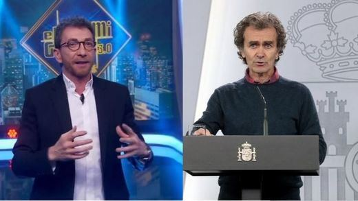 Pablo Motos vuelve a desatar las críticas al burlarse de Fernando Simón